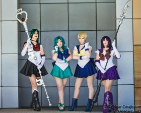 Sailor Pluto from Sailor Moon R worn by LadyStaba
