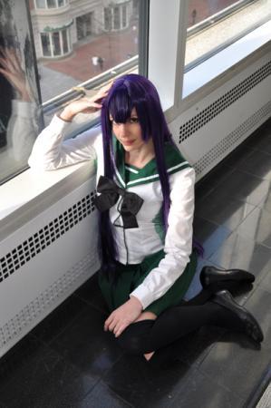 Busujima Saeko from Highschool of the Dead
