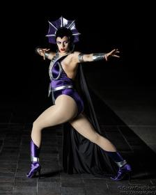 Evil-Lyn from He-Man, Masters of the Universe worn by Faye Lynn