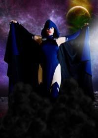 Raven from Teen Titans worn by Faye Lynn