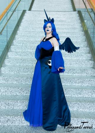 Princess Luna from My Little Pony Friendship is Magic worn by Faye Lynn
