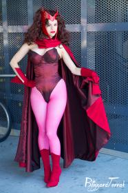 Scarlet Witch from Avengers, The worn by Faye Lynn