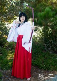 Kikyo from Inuyasha worn by Faye Lynn