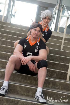 Sugawara Koushi from Haikyuu!! worn by Tenleid