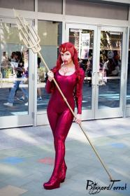 Mera from DC Comics worn by Tenleid