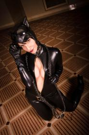 Catwoman from DC Comics worn by Tenleid