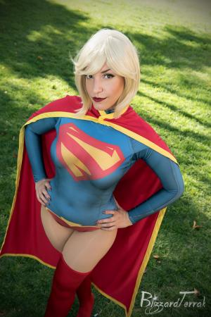 Supergirl from DC Comics worn by Tenleid