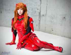 Asuka Langley Sohryu from Neon Genesis Evangelion worn by Tenleid