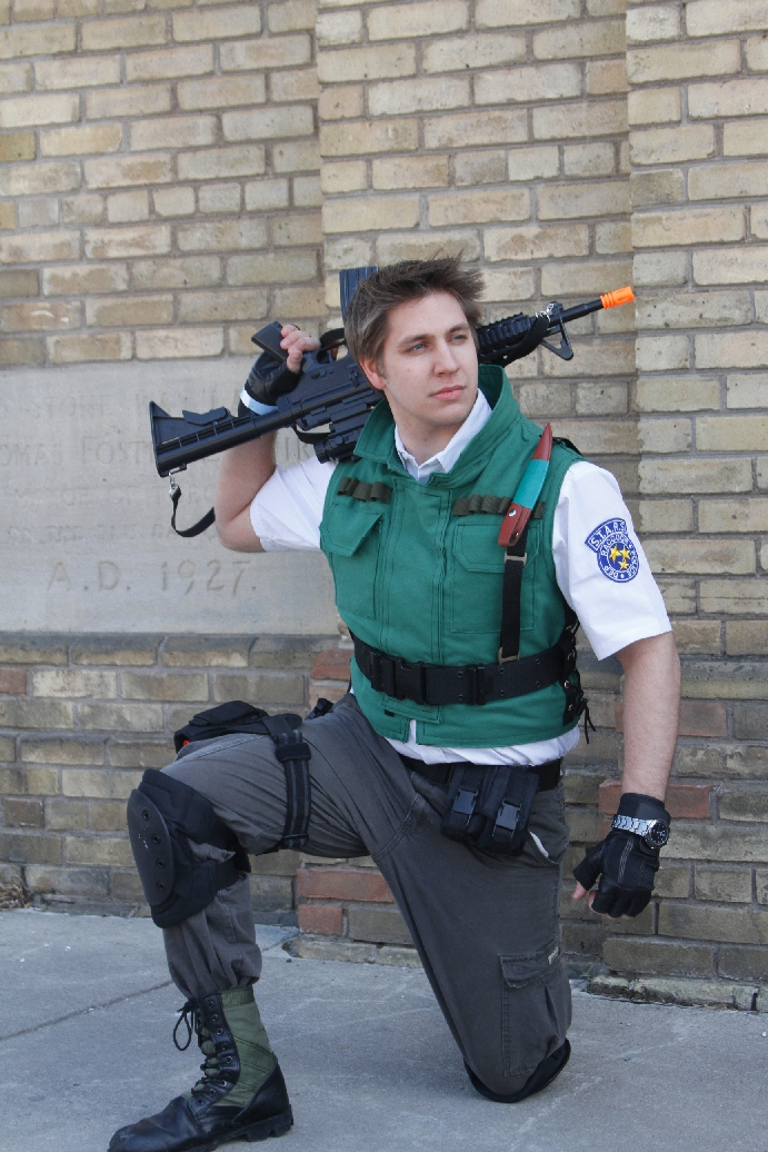 Chris Redfield Resident Evil By The Letter Jay