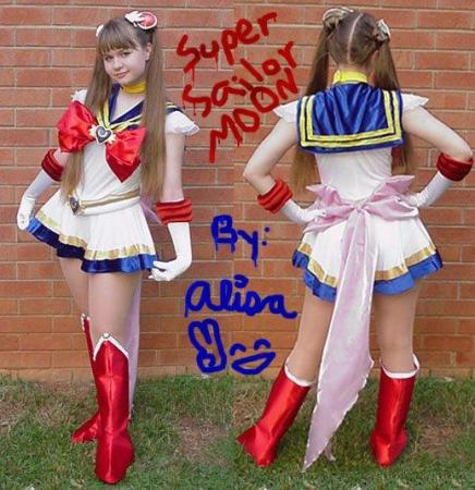 Sailor Moon from Sailor Moon worn by Alisa-chan