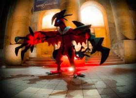 Yveltal from Pokemon worn by Zekrom