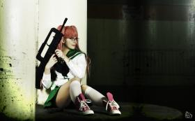 Takagi Saya from Highschool of the Dead