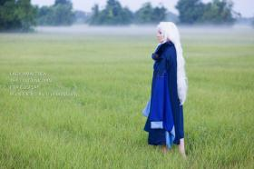 Lady Amalthea from The Last Unicorn worn by Foayasha