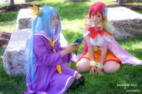 Shiro from No Game No Life worn by Nico/Yuuki