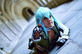 Sinon from Sword Art Online worn by Nico/Yuuki