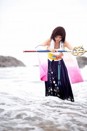 Yuna from Final Fantasy X by Yuqicosplays