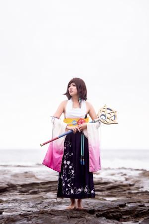 Yuna from Final Fantasy X worn by Yuqicosplays