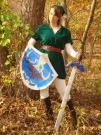 Link from Legend of Zelda worn by DeadPixelPrincess