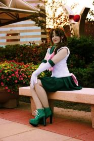 Sailor Jupiter from Sailor Moon worn by GunKatCosplay