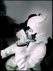 Ulquiorra Schiffer from Bleach worn by Brittany Foxx