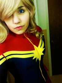Ms. Marvel from Marvel Comics worn by Highball