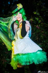 Gumi from Vocaloid 2 worn by julian