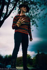 Freddy Krueger from Nightmare on Elm Street worn by TNT Cosplay