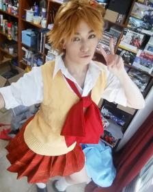 Yosuke Hanamura from Persona 4 worn by kris lee