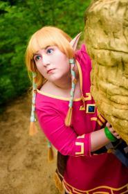 Zelda from Legend of Zelda: Skyward Sword worn by Azure Rose