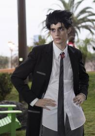 Kaiki Deishu from Nisemonogatari worn by Fabulous Maxwell
