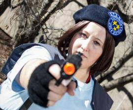 Jill Valentine from Resident Evil worn by AshleyNoirCosplay