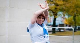 Mako Mankanshoku from Kill la Kill worn by The Howling Shoopuf