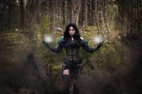 Yennefer from The Witcher Series worn by The Howling Shoopuf