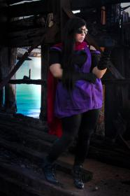 Lisa Lisa from Jojo's Bizarre Adventure worn by The Howling Shoopuf