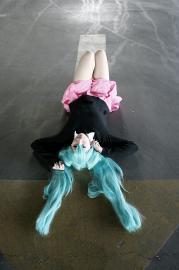 Hatsune Miku from Vocaloid 2 worn by dersite