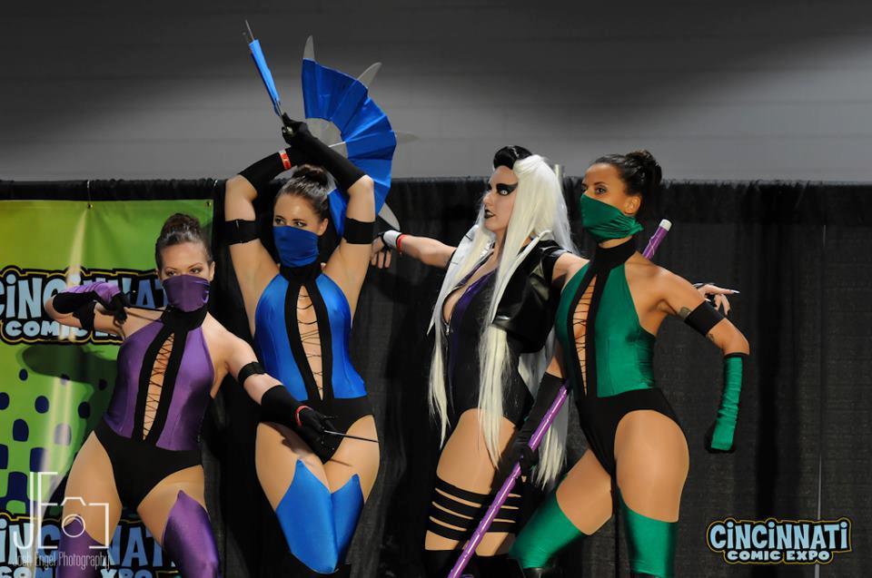Kitana Mortal Kombat Iii By Amanda Dawn Acparadise Com