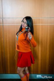 Velma Dinkley from Scooby Doo worn by Reiko Murakami