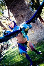 Quinn from League of Legends worn by xXSnowFrostXx