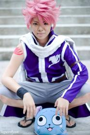 Natsu Dragion from Fairy Tail worn by xXSnowFrostXx