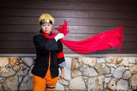 Naruto Uzumaki from Naruto worn by xXSnowFrostXx