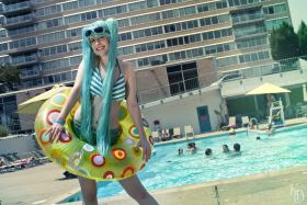 Hatsune Miku from Vocaloid worn by Shinjaninja