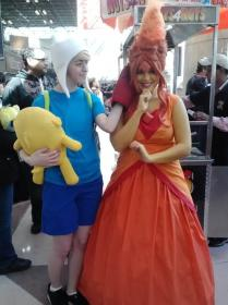 Flame Princess from Adventure Time with Finn and Jake