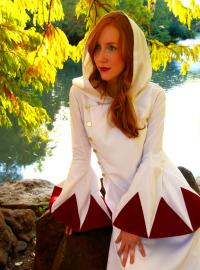 White Mage from Final Fantasy worn by Heidi