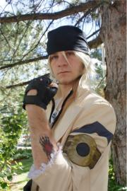 Snow Villiers from Final Fantasy XIII worn by Warpath