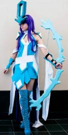 Suicune from Pokemon worn by KO Cosplay