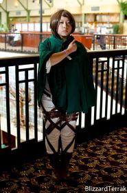 Sasha Braus from Attack on Titan worn by Yoko Tsuki