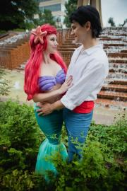Ariel from Little Mermaid worn by Kat Shea