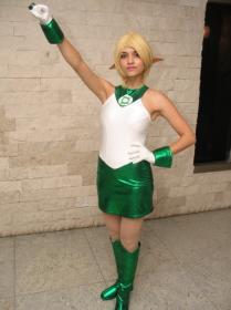 Arisia Rrab from Green Lantern worn by Fushicho