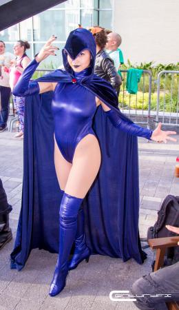 Raven from Teen Titans by Fushicho