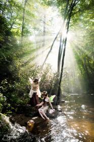Woodland Fairy from Original:  Fantasy worn by Fushicho